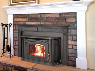 fireplace insert, replacement fireplace